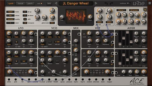 u-He Ace Modular Synth Virtual Instrument Buy Download Now
