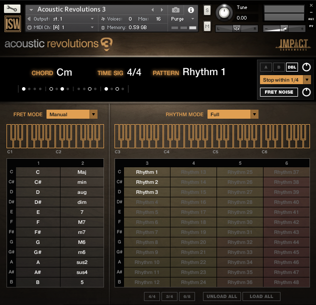 Impact Soundworks Acoustic Revolutions 3 GUI 1