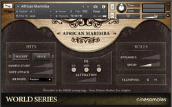 Cinesamples World Series African Marimba and Udu