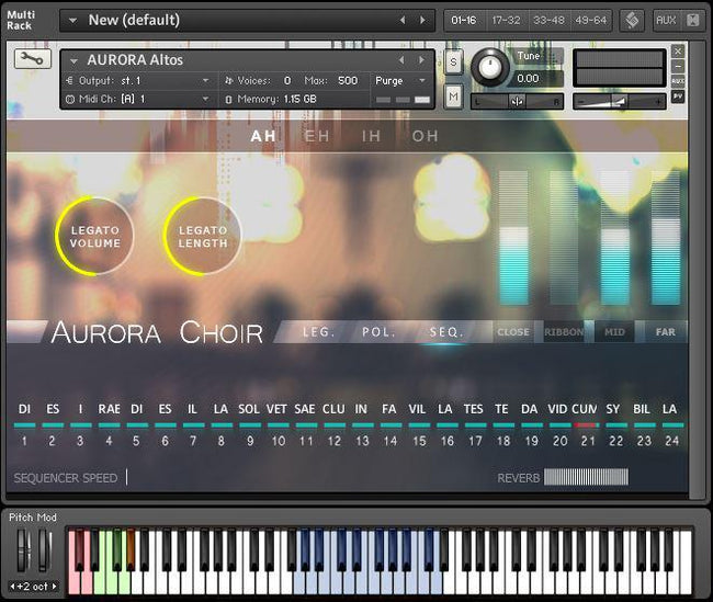 Aria Sounds Aurora Choir for Kontakt