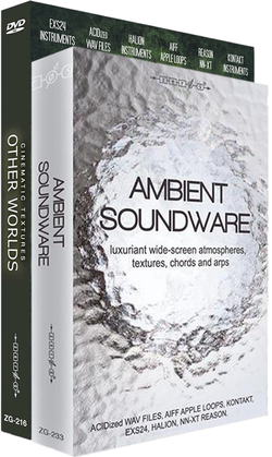 Zero-G Ambient Soundware and Other Worlds Bundle