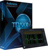 Audionamix TRAX 3 SP Box Art and GUI