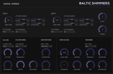 Sonic Atoms Baltic Shimmers Drones GUI
