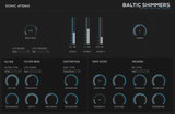 Sonic Atoms Baltic Shimmers Pads GUI