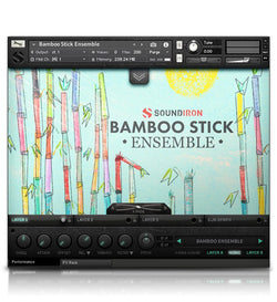 Soundiron Bamboo Stick Ensemble 3.0 interface