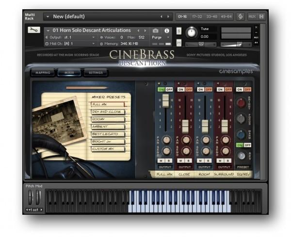 Download Cinesamples CineBrass Descant Horn