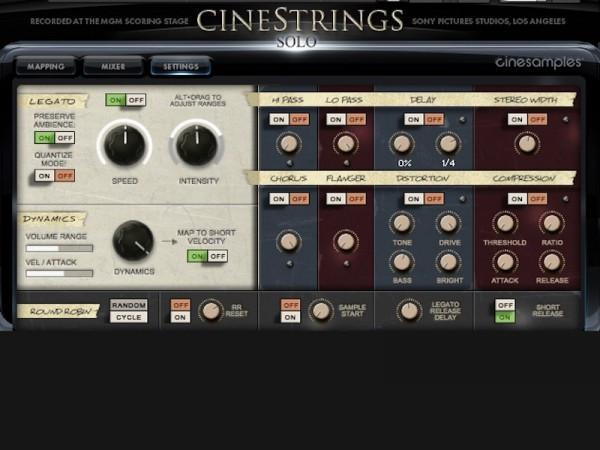 Buy CineSamples CineStrings Solo