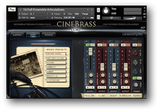 Cinesamples Cinebrass interface