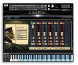 Cinesamples CinePerc interface