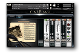 Cinesamples CinePiano interface