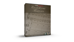 Download Cinesamples CineScore Template