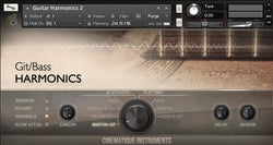 Cinematique Instruments Guitar Harmonics v2 GUI