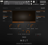 Cinematique Instruments Melt GUI 3