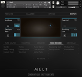 Cinematique Instruments Melt GUI 2