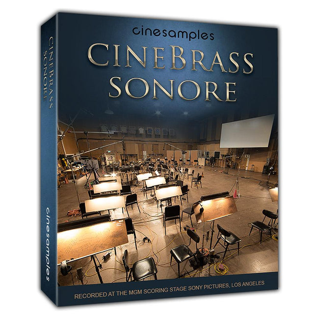 Cinesamples Cinebrass Sonore box