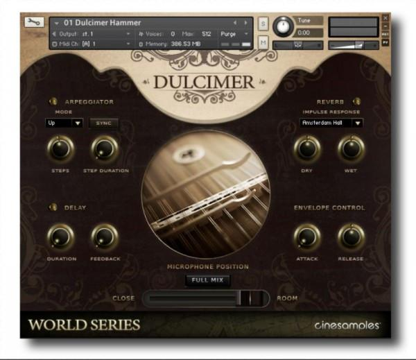 Install CineSamples Dulcimer and Zither