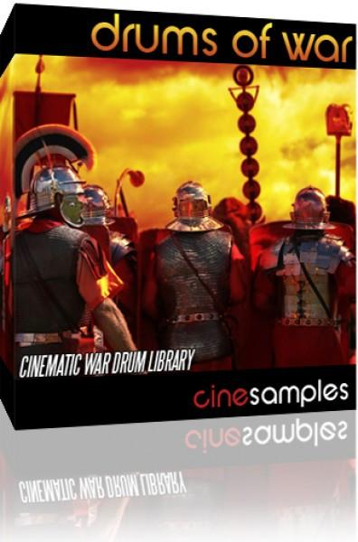 Download CineSamples Drums of War