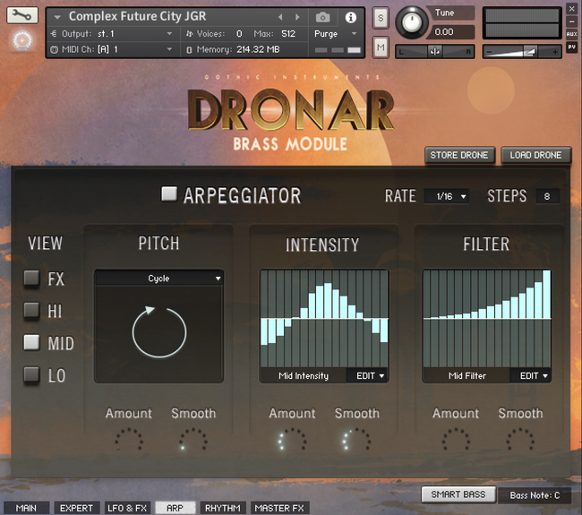 Gothic Instruments DRONAR Brass – Time+Space