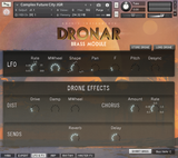Interface Gothic Instruments DRONAR Brass