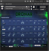 DRONAR Distorchestra - MIXER PAGE
