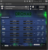 DRONAR Distorchestra - Sounds page