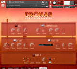 DRONAR World Flutes Master FX interface