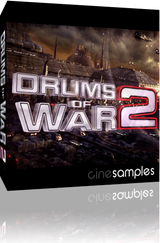 Download CineSamples Drums of War 2