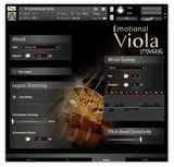Best Service Emotional Viola GUI Expert Page