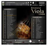 Best Service Emotional Viola GUI Main Page