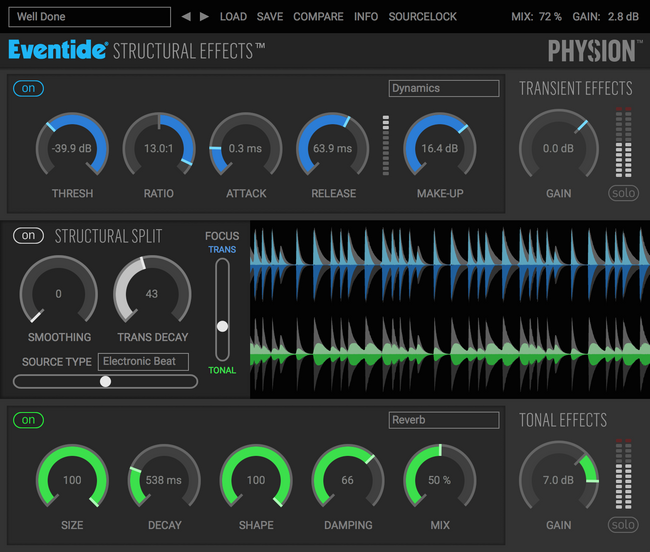 Eventide Physion GUI