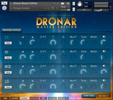 DRONAR Master Edition Expert interface page