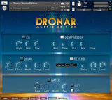 The Master FX page in DRONAR Master Edition