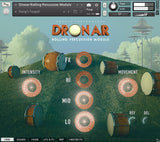 Gothic Instruments DRONAR Rolling Percussion GUI