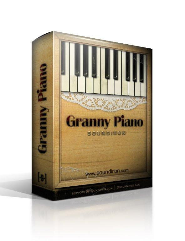 Download Soundiron Old Busted Granny Piano Reason Refill