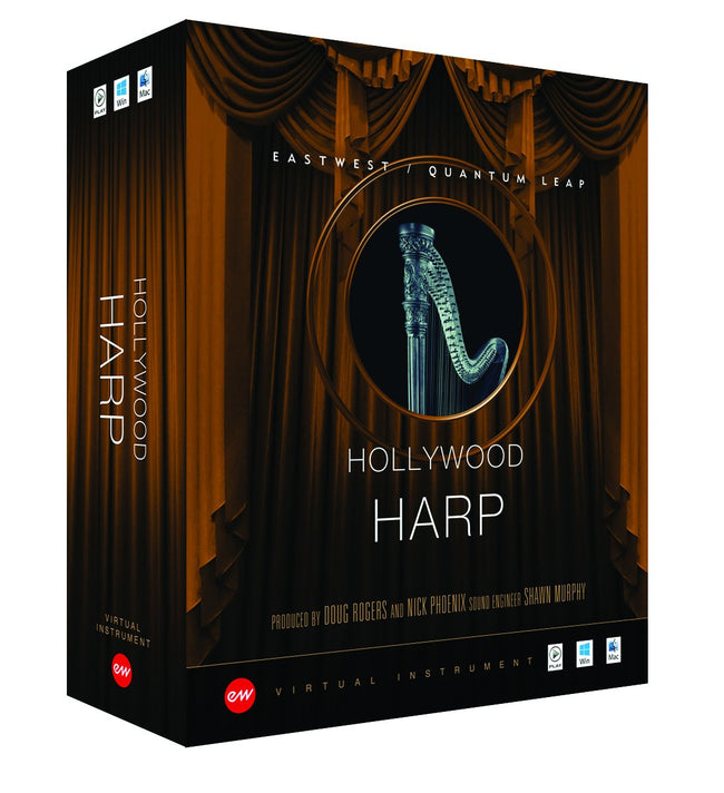 EastWest Hollywood Solo Harp – Time+Space