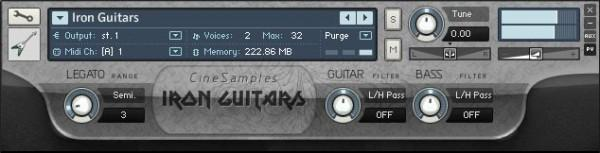 Buy CineSamples Iron Guitars