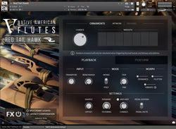 Impact Soundworks Ventus Winds Native American Flutes GUI