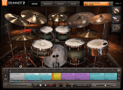 Toontrack Latin Cuban Drums interface