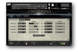 Cinesamples CineStrings interface