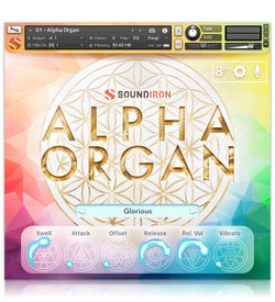 Soundiron Alpha Organ Main GUI