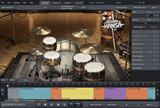 Toontrack SDX: The Rooms of Hansa GUI