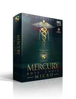 Soundiron Mercury Boy's Choir Micro Box Art
