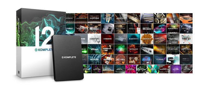 Native Instruments Komplete 12 virtual instrument and effects plugin bundle