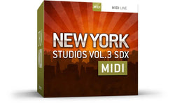 Toontrack New York Studios Vol 3 MIDI