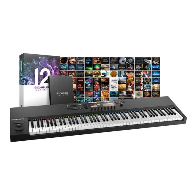 Native Instruments Komplete Kontrol S88 + Komplete 12/ 12 Ultimate Bundle