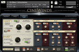 Cinesamples CineWinds interface