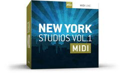 Toontrack New York Studios Vol 1 MIDI