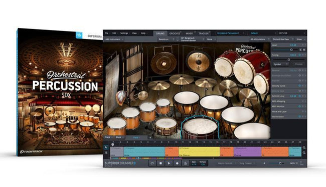 TOONTRACK ORCHESTRAL PERCUSSION GUI