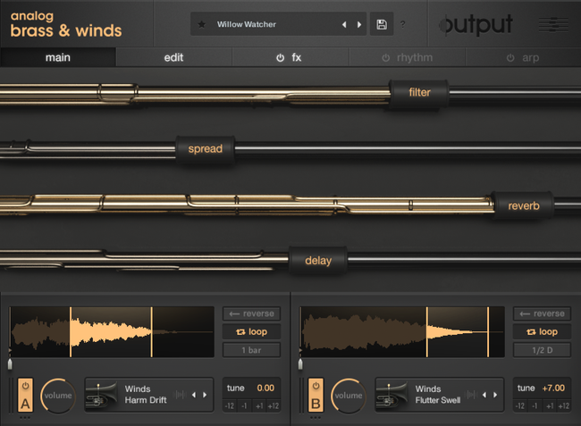 Download Output - Analog Brass and Winds