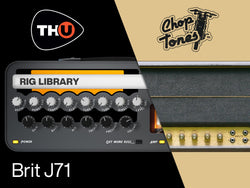 Overloud Choptones Brit J71 TH-U Rig Library